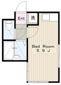 Y&Y相生1階Fの間取り画像