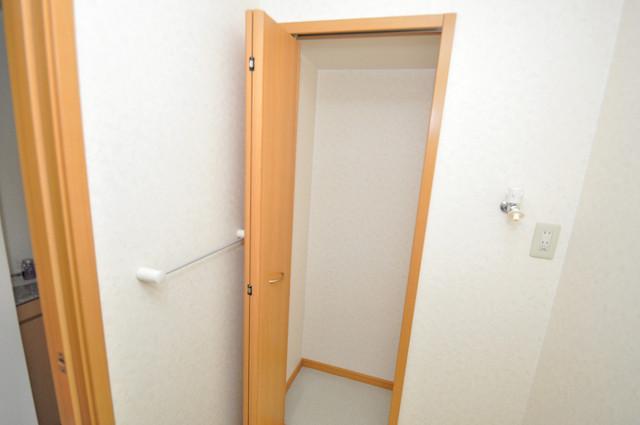シムリーミナⅡ もちろん収納スペースも確保。おかげでお部屋の中がスッキリ。