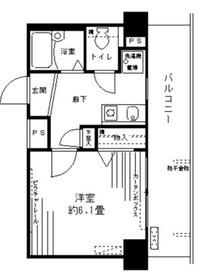 アルテーヌ新横浜9階Fの間取り画像