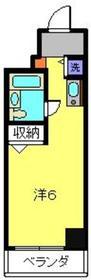 木曽屋第3ビル8階Fの間取り画像