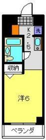 木曽屋第3ビル7階Fの間取り画像