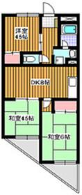 地下鉄成増駅 徒歩1分9階Fの間取り画像