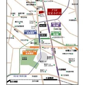 クリオ文京小石川案内図