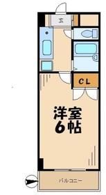 レジデンスSUDA レジデンススダ3階Fの間取り画像