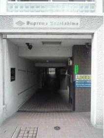 月島駅 徒歩1分エントランス