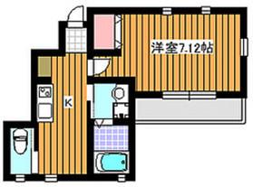 朝霞駅 徒歩32分1階Fの間取り画像