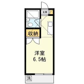 メゾン上福岡2階Fの間取り画像