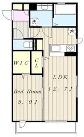 (仮)D-room上溝2階Fの間取り画像