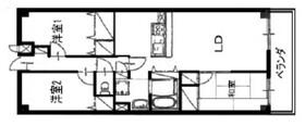 オークス南仙台5階Fの間取り画像