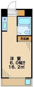アートイン大塚1階Fの間取り画像