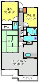 ガーデンハウス綱島B1階Fの間取り画像