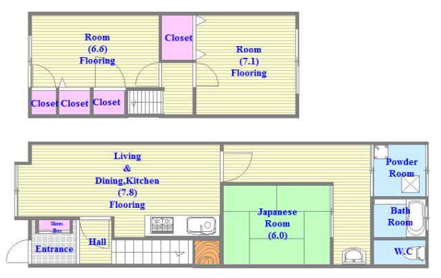 小路東2-3-9 貸家 一戸建にこだわるファミリーの為の物件です。
