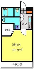 ライフモリ6号館4階Fの間取り画像