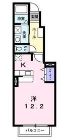 エトワール相武台1階Fの間取り画像
