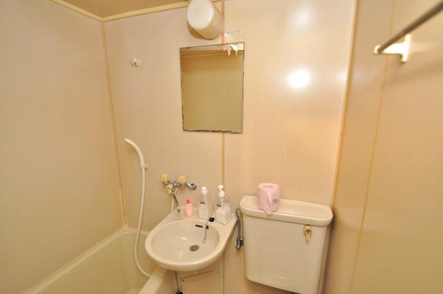 浅田ハイツ 可愛いいサイズの洗面台ですが、機能性はすごいんですよ。