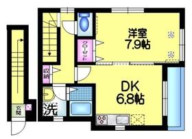 ファミーユ2階Fの間取り画像