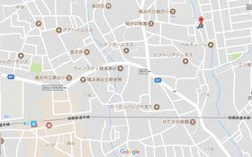 グリーンハイツA案内図