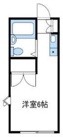 フィリオイセハラ1階Fの間取り画像