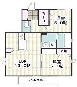 高座渋谷駅 徒歩19分1階Fの間取り画像