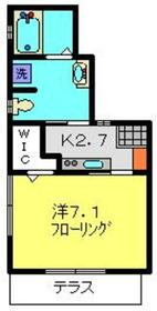 新川崎駅 徒歩25分1階Fの間取り画像