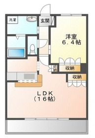 パルティール横濱5階Fの間取り画像