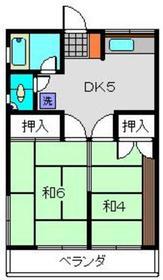 青砥泉荘2階Fの間取り画像