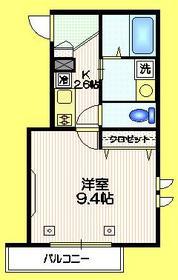 メゾン奈良2階Fの間取り画像