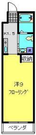 上星川駅 徒歩20分3階Fの間取り画像