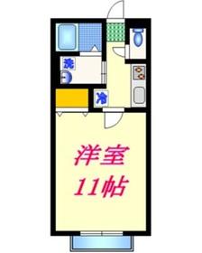 プリマヴィータ2階Fの間取り画像