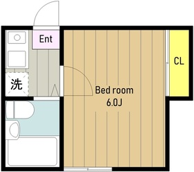 ピュア相模台Ⅱ1階Fの間取り画像