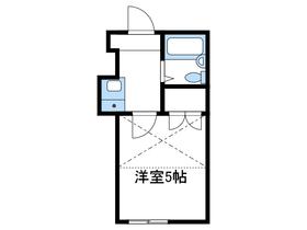 ユキグニカシワダイ1階Fの間取り画像