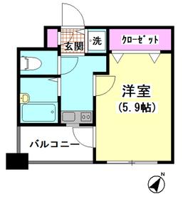 シンシア大森 502号室