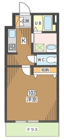 ソレイユ亀戸1階Fの間取り画像