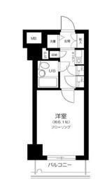 日ノ出町駅 徒歩18分6階Fの間取り画像