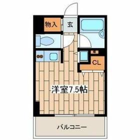 菊名駅 徒歩9分1階Fの間取り画像