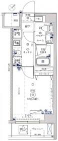 レーヴ横浜花月園前ステーションID2階Fの間取り画像