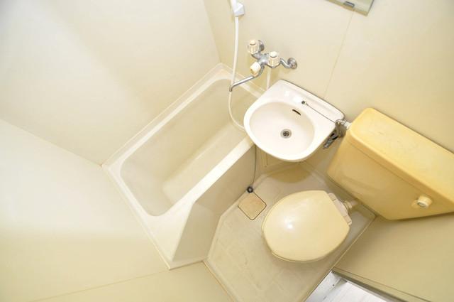 スカイプラザⅢ シャワー1本で水回りが簡単に掃除できますね。