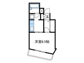 ノアハヤシⅡ1階Fの間取り画像