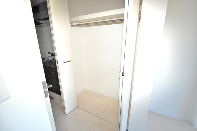 Luxe今里Ⅱ もちろん収納スペースも確保。いたれりつくせりのお部屋です。