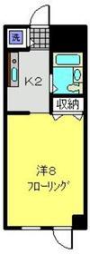 天王町駅 徒歩4分1階Fの間取り画像