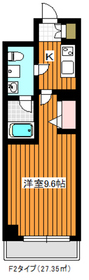 リルシア成増8階Fの間取り画像