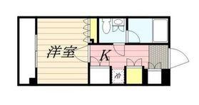 スパシエカステール横浜吉野町6階Fの間取り画像