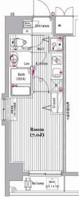 グランド・ガーラ新横浜South3階Fの間取り画像