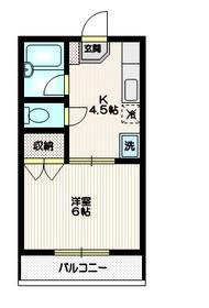 モンマルトル2階Fの間取り画像