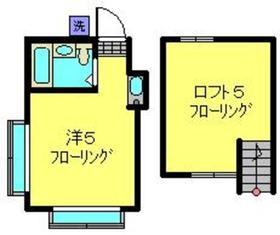 ネオステーションプラザ白楽2階Fの間取り画像
