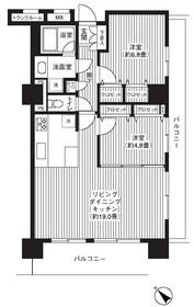 グランピラー高井戸1階Fの間取り画像