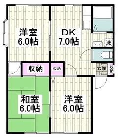 三浦海岸駅 徒歩9分1階Fの間取り画像