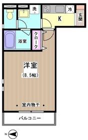 ライジングサン武蔵小山 301号室