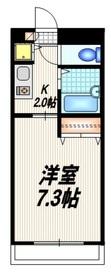 GRANDEUR NAKANO グランデュール ナカノ2階Fの間取り画像