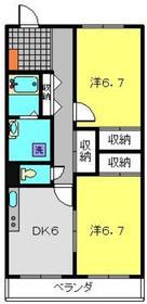 東白楽駅 徒歩9分1階Fの間取り画像